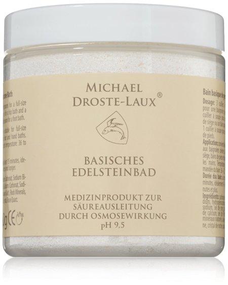 Michael Droste Laux Naturkosmetik Basisches Edelsteinbad Badezusatz Front