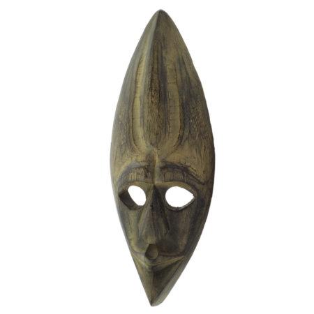 Maske Antik Albesiaholz