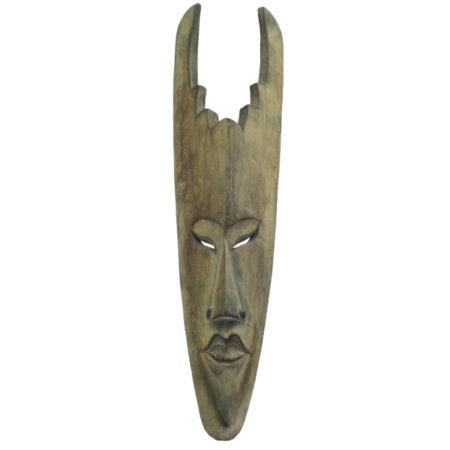 Teuflische Maske 50cm Albesiaholz