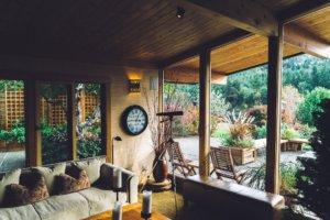 eingerichtetes Zuhause