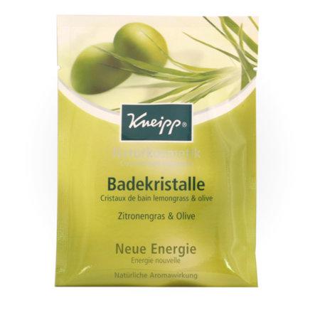 Kneipp Naturkosmetik Badekristalle Zitronengras - Olive