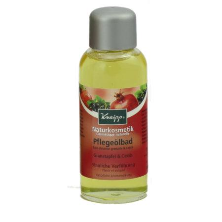 Kneipp Naturkosmetik Pflegeölbad Granatapfel - Cassis