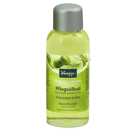 Kneipp Naturkosmetik Pflegeölbad Zitronengras - Olive