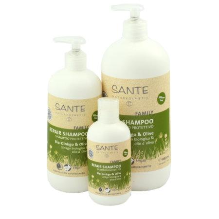 Sante Naturkosmetik Repair Shamapoo Bio-Ginko Olive alle Groessen