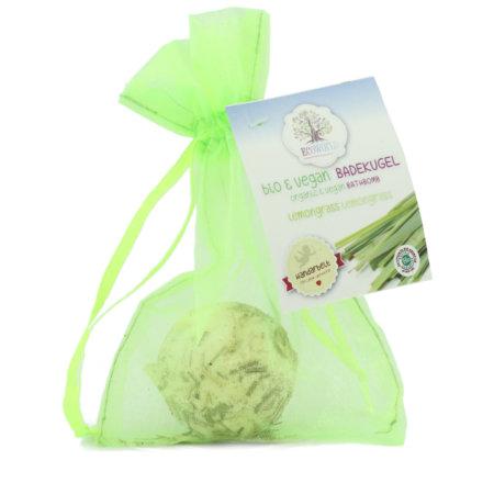 Ecoworld veganer bio Badecupkake Lemongrass