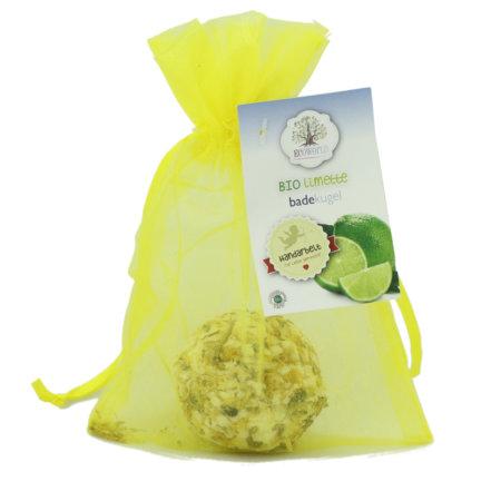 Ecoworld veganer bio Badecupkake Limette